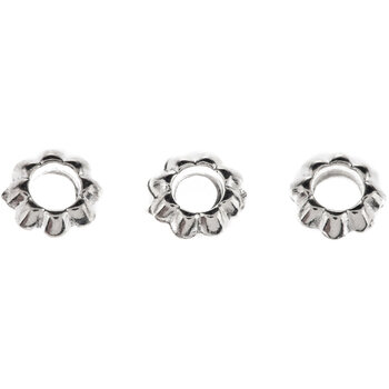 Floral Spacer Beads - 7mm