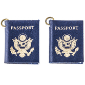 Blue Passport Charms