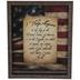Pledge of Allegiance Framed Wall Decor