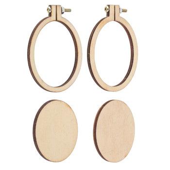 Wood Oval Frames