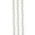 Ecru Glass Pearl Bead Strand - 4mm
