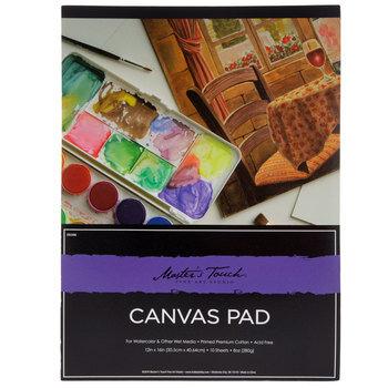 Watercolor Canvas Paper Pad