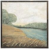 River Landscape Canvas Wall Decor