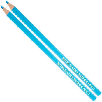 Blue Water Soluble Marking Pencils - 2 Piece Set