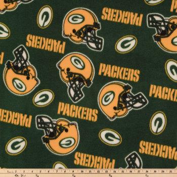 NFL Green Bay Packers Fleece Fabric