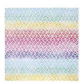 "Watercolor Hearts Scrapbook Paper - 12"" x 12"""