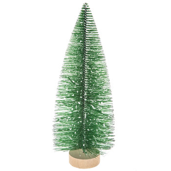 Green Flocked Sisal Tree - Large
