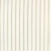 White Tonal Striped Cotton Calico Fabric