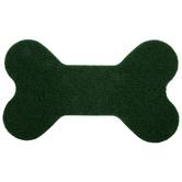Grass Dog Bone Doormat