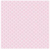 """Pink & White Sweet Damask Scrapbook Paper - 12"""" x 12"""""""