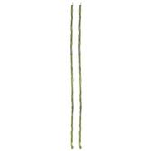Green Glass Rectangle Bead Strands
