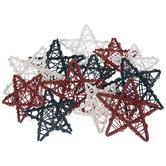 Red, White & Blue Rattan Star Filler