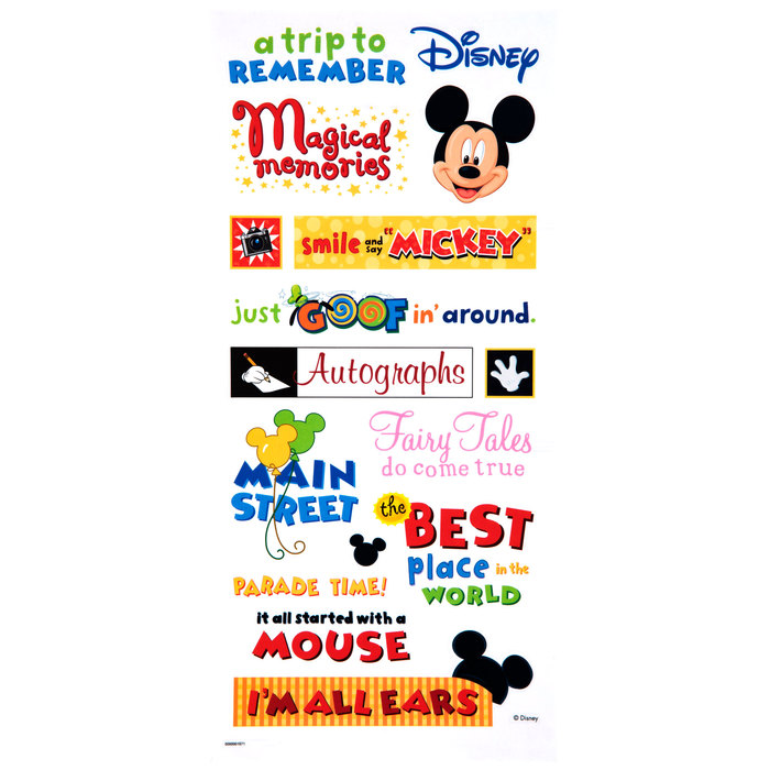 Me And My Big Ideas Stickers Theme Park Kids