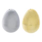 Gold & Silver Fillable Eggs