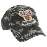 Oh Deer Camouflage Baseball Cap