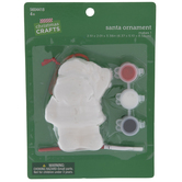 Santa Ornament Craft Kit