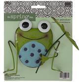 Frog Metal Pot Percher