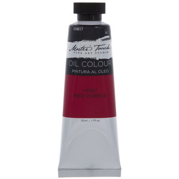 Red Purple Master's Touch Oil Paint - 1.7 Ounce