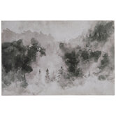 Watercolor Forest Wood Wall Decor