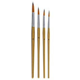 Round Paint Brushes - 36-Piece Set