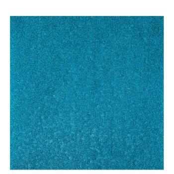 Aqua Glitter Iron-On Transfer