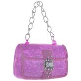 Hot Pink Sequin Handbag Ornament