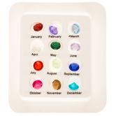 Acrylic Birthstones
