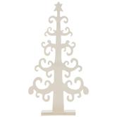 Wood Swirl Christmas Tree