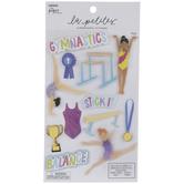 Gymnastics 3D Stickers