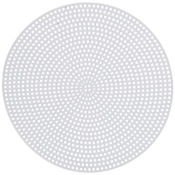7-Mesh Circle Plastic Canvas Shape