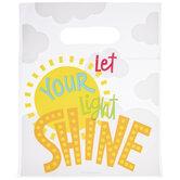 Let Your Light Shine Zipper Bags