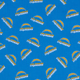 NFL Los Angeles Chargers Cotton Fabric