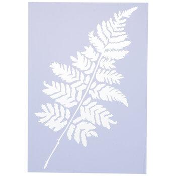 Fern Leaf Stencil