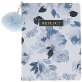 Reflect Watercolor Floral Journal With Pom Pom