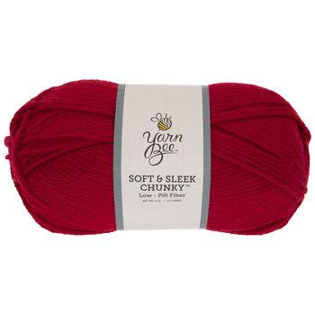 Red Yarn Bee Soft & Sleek Chunky Yarn