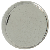 Silver Round Metal Knob