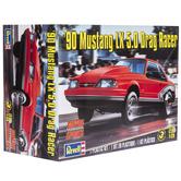 1990 Mustang LX 5.0 Drag Racer Model Kit
