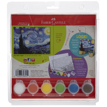 The Starry Night Paint By Number Kit