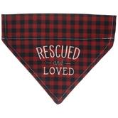 Rescued & Loved Dog Bandana