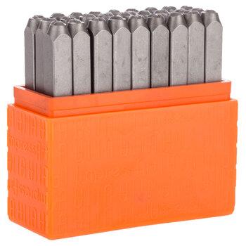 Bridgette Uppercase Letters Metal Stamps - 3mm