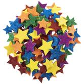 Star Glitter Foam Stickers