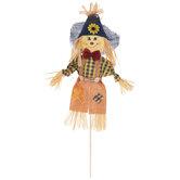 Blue Hat Scarecrow Pick