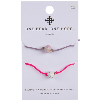 Pink & Purple Slider Bracelets