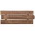 Rectangular Slatted Pine Wood Panel