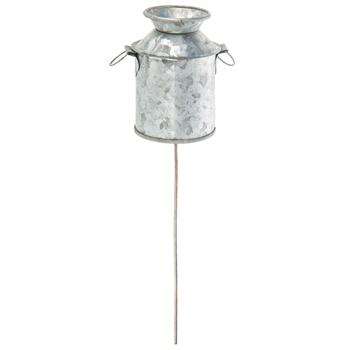 Galvanized Metal Milk Can Pick