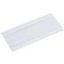 White Single Fold Bias Tape