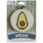 Avocado Cross Stitch Kit