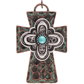 Cross Medallion Pendant