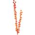 Matte Orange Berry Cluster Stem