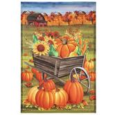 Pumpkin Patch Garden Flag